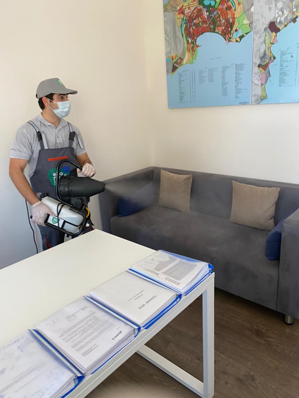 AS İnşaat - Sağlamlıq təmizlikdən başlayır - EcoMedi MMC dezinfeksiya, dezinseksiya, deratizasiya, fumiqasiya işlərinin həyata keçirilməsi üzrə qabaqcıl şirkətdir.
