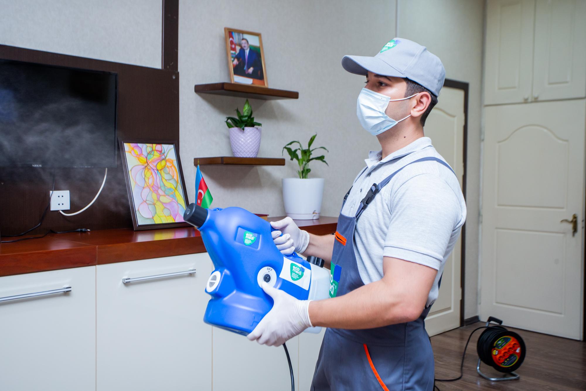 Harmoniya Psixologiya Mərkəzi - Sağlamlıq təmizlikdən başlayır - EcoMedi MMC dezinfeksiya, dezinseksiya, deratizasiya, fumiqasiya işlərinin həyata keçirilməsi üzrə qabaqcıl şirkətdir.