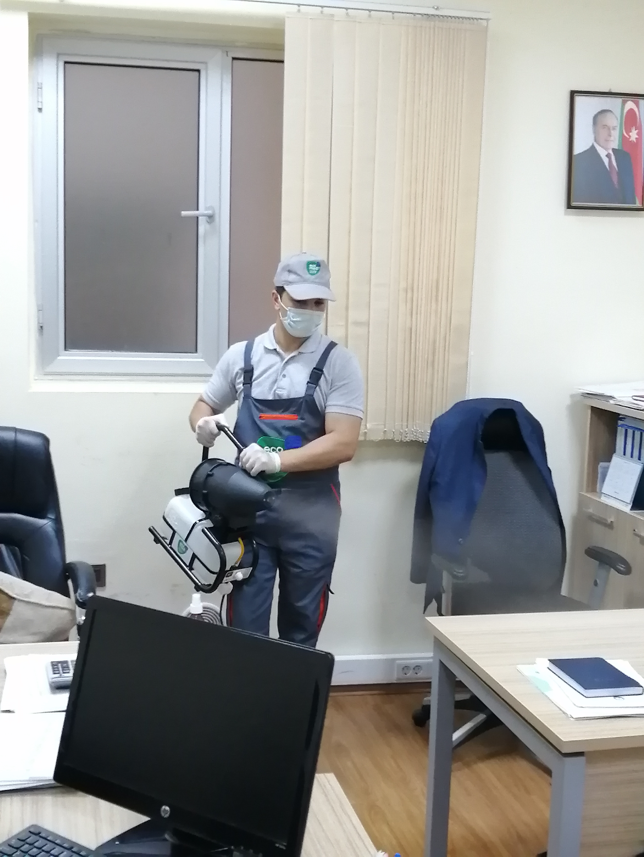 ASAN xidmət - Sağlamlıq təmizlikdən başlayır - EcoMedi MMC dezinfeksiya, dezinseksiya, deratizasiya, fumiqasiya işlərinin həyata keçirilməsi üzrə qabaqcıl şirkətdir.
