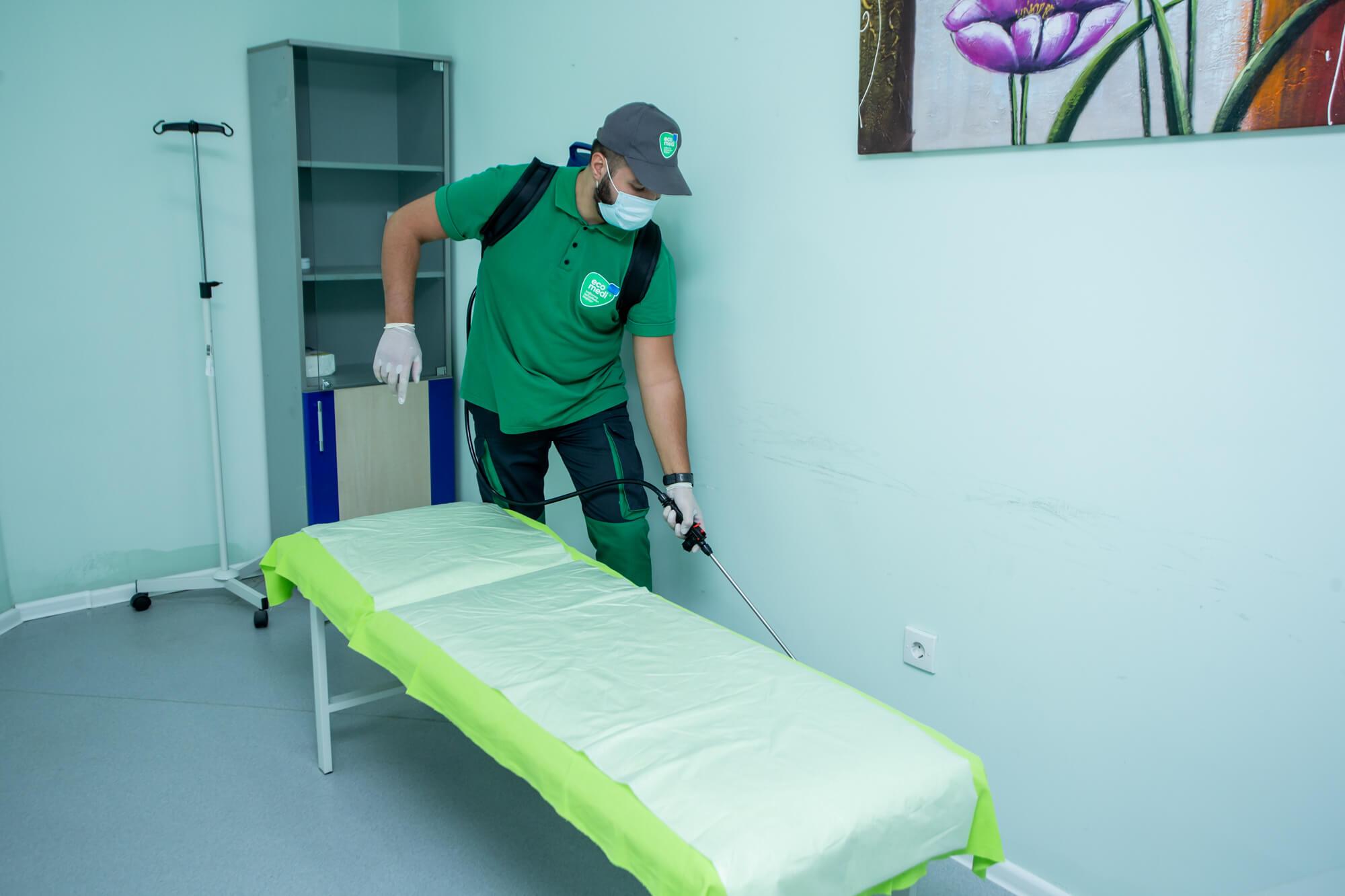 Bakı Bərpa Mərkəzi - Sağlamlıq təmizlikdən başlayır - EcoMedi MMC dezinfeksiya, dezinseksiya, deratizasiya, fumiqasiya işlərinin həyata keçirilməsi üzrə qabaqcıl şirkətdir.